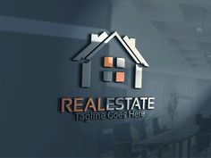 Real Estate Logo by Josuf Media on @creativemarket