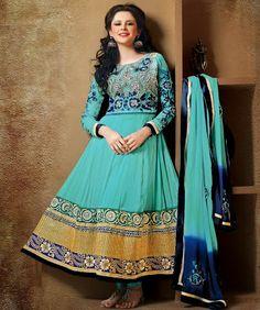 Cotton salwar kameez most popular among designer salwar kameez online @ www.gynye.com