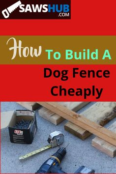 Having a sturdy dog fence in your backyard is important for your dog's safety. If you are thinking of building your own dog fence, then this post by Saws Hub will help you do it cheaply. Whether you are looking for portable fence ideas, or something temporary, you don't have to blow the budget. Read this article for more details now, and get started! #dogfence #cheapdogfence #diydogfence #buildingadogfence Diy Dog Fence, Portable Fence, Build Your Own House, Weathered Wood, Wood Pieces, Fence Ideas, Backyard Ideas, Woodworking Tips