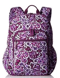 NEW Vera Bradley LILAC PAISLEY Campus Tech Backpack School Collage Book Bag  NWT  fashion  clothing  shoes  accessories  womensbagshandbags (ebay link) 13ba3b26c8ac3