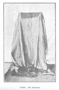 The korowai Maori Designs, Maori Art, Easter Island, Cloaks, Kite, Old And New, Weaving, Tapestry, Dance