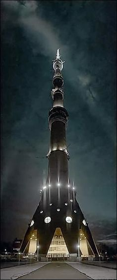 Amazing Snaps: The Ostankino Tower - Moscow, Russia