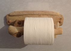 Driftwood toilet roll holder, Art. Sculpture, Nautical, Marine, Crafts £14.00