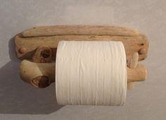 Driftwood toilet roll holder Art. Sculpture by COASTLINECRAFTS, £14.00