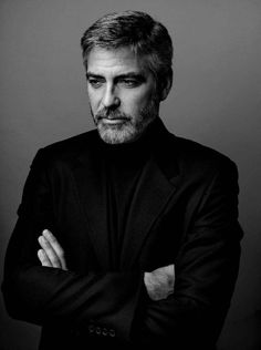 Portrait: George Clooney | by Marco Grob ( website: marcogrob.com ) #photography #marcogrob