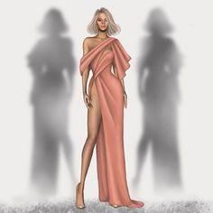 Burak Bayraktaroğlu sur Instagram : Zuleyha Kuru Timeless #fashion #fashions #fashionlook #fashionoftheday #fashionshow #fashionweek #instaart #instadraw #instagood… Vintage Fashion Sketches, Vintage Vogue Fashion, Fashion Design Sketchbook, Fashion Design Drawings, Timeless Fashion, Couture Mode, Couture Fashion, Fashion Art, Fashion Models