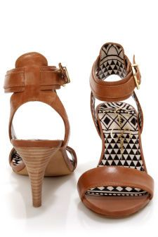 Jessica Simpson Erikk Tan Single Strap Sandals