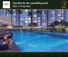 Lounge by the poolside deck or take a revitalising dip: The sparkling swimming pool is an idyllic place!