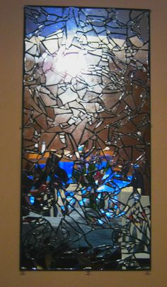 Shattered Glass Mirror