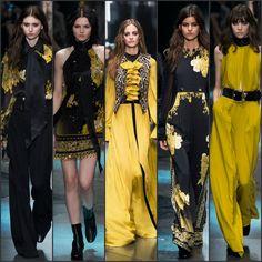 Roberto Cavalli Fall 2015 - READ MORE ON http://fashionsizzle.com/roberto-cavalli-fall-2015/