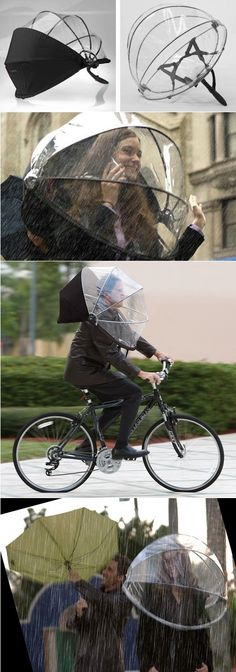 Innovative Umbrella – Hands Free Nubrella.