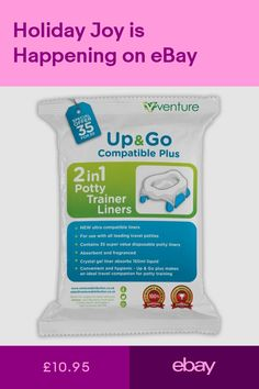 Portable Potty Liners 35 Pack Comaptible With Oxo Tot Pote Plus Babyway Potties