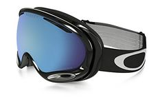Oakley AFrame 20 Ski Goggles Jet Black Frame with Prizm Sapphire Iridium Lens *** You can find out more details at the link of the image. This is an Amazon Affiliate links.