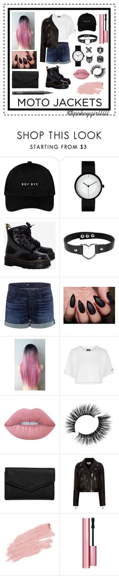 """""""BlackPink"""" by pokeygirlllll on Polyvore featuring Topshop, Dr. Martens, 3x1, Lime Crime, LULUS, Étoile Isabel Marant, Jane Iredale, Too Faced Cosmetics and NARS Cosmetics"""