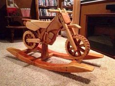 Hook your Mini Troop up with a Wooden Trail Rocker Rocking Dirt Bike by RockinRides on Etsy. Motocross Baby, Baby Motorbike, Deco Pastel, Everything Baby, Wood Toys, Rocking Chair, Rocking Horses, Future Baby, Baby Love