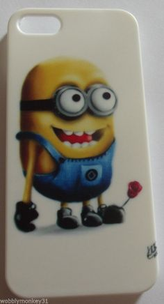 Despicable Me Mobile Phone Hard White Case Cover for iphone 5 5th - Style 2