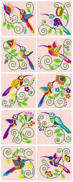 Bellos colibrís!!!