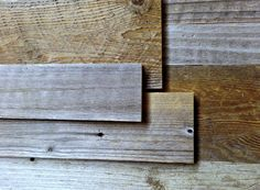 Reclaimed Wood Paneling - Redwood sample pack by SWDESIGNS74 on Etsy