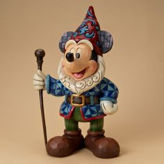 Enesco Disney Traditions Designed by Jim Shore Mickey Mouse Garden Gnome Figurine 15 in Disney Princess Facts, Disney Fun Facts, Disney Ideas, Disney Figurines, Collectible Figurines, Punk Disney Princesses, Disney Characters, Disney Movies, Disney Garden