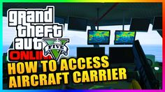 GTA5 Heists DLC - How To Access The HYDRA Aircraft Carrier Outside Of Heists Missions! (GTA V)