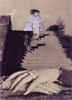 Karel Teige. Collage 190. 1941.