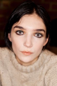 """According to designer Peter Som, we can go head and cry our eyes out — this wet-look liner says, """"I just wept, and I look even better than before."""""""