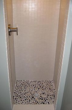 how to build a bathroom cabinet with drawers pebble tile shower floor w 1x2 unglazed porcelain tile on 16794