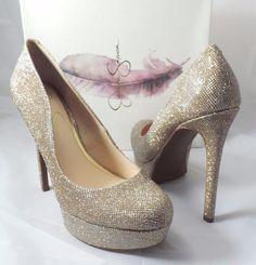 8b9a5d2531b0 Jessica Simpson Women s Sandrah Platform High Heel PUMPS 2 Colors 9 Gold