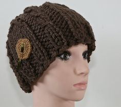 Knitted Hats, Crochet Hats, Beanie, Vintage, Knitting, Etsy, Fashion, Fleece Hats, Handmade
