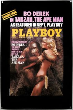 Tarzan The Ape Man / one sheet / advance Playboy version / USA