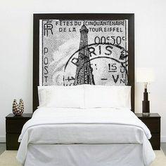tête-de-lit-panneau-graphique-moderne