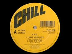 ▶ I Need Your Love (like the sunshine) - N.R.G. Original Mix 1992 - YouTube