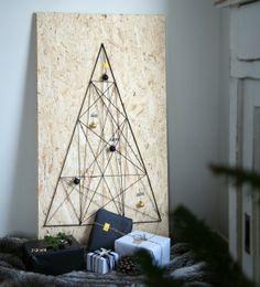Hege in France DIY Christmas tree chipboard