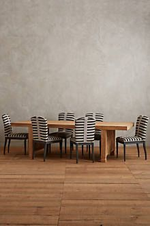 Grassland Stripe Dining Chair - anthropologie.com