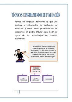 Tecnicas e instrumentos- EDUCACION by Diana Ccama Paz via slideshare