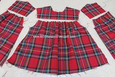 pucker – Morela Araujo – Join the world of pin Frock Patterns, Baby Girl Patterns, Baby Girl Dress Patterns, Baby Clothes Patterns, Dress Sewing Patterns, Toddler Girl Dresses, Little Girl Dresses, Clothing Patterns, New Dress Pattern