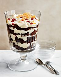 Gingerbread and White Chocolate Mousse Trifle Recipe