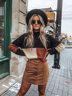 Fall Outfits For School, Trendy Fall Outfits, Fall Fashion Outfits, Mode Outfits, Cute Casual Outfits, Autumn Fashion, Party Fashion, Fashion Fashion, Fashion Dresses
