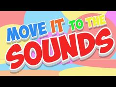 Move It To The Sounds is a fun brain break movement song. Students can move to the music with their own creative expression and creative movement for a fun, . Kids Dance Songs, Fun Songs, Children Songs, Movement Activities, Music And Movement, Physical Activities, Infant Activities, Kids Songs With Actions, Jack Hartmann