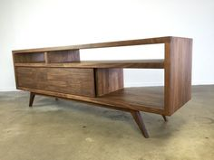 Mid century modern danish modern TV console TV stand by MonkeHaus                                                                                                                                                                                 More