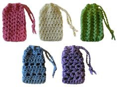 Crochet Spot » Blog Archive » Crochet Pattern: 5 Simple Soap ...