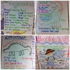 Kindiekins: Anchor Chart Addict....and dinosaurs! :)