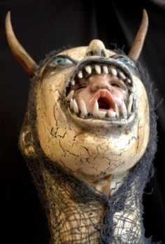 prop art doll by Macabre Artist D.L. Marian this will give u nightmares geez