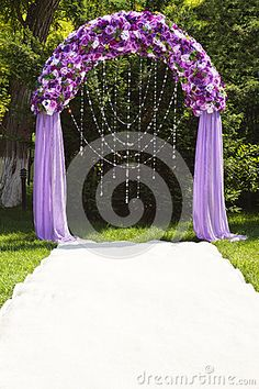 Wedding arch by Seleznyov, via Dreamstime