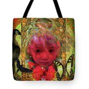 Indigo Child Tote Bag by Joseph Mosley