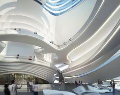 Zaha Hadid Architects, the Changsha Meixihu