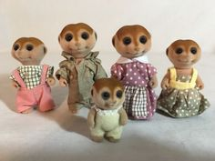 Calico critters Meerkat Family
