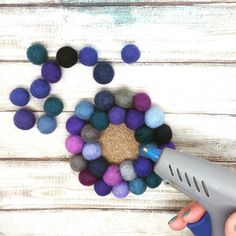 At Minerva Crafts you will find the biggest and best selection of fabric, knitting, haberdashery and crafts products in the UK Felt Coasters, Diy Coasters, Fabric Balls, Glue Gun Crafts, Minerva Crafts, Pom Pom Crafts, Felt Ball, Craft Shop, Felt Diy