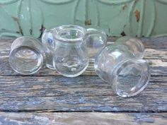 Fire Cupping Set of 6 Medical Glass Cupping Jars by Sfuso on Etsy