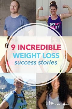 9 Weight Loss Success Stories You're Going to Want to See